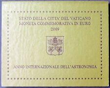 VA20009.1 - COFFRET VATICAN - 2009 - 2 euros commémo. Année int. de l'astronomie