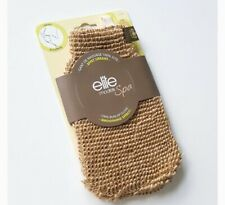 BRAND NEW ELITE MODELS/ Exfoliating , Energizing Massage Burlap Glove