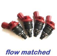 4 x 740cc Side Feed Fuel Injectors NISSAN Silvia 180sx SR20 S13 S14 S15 200sx