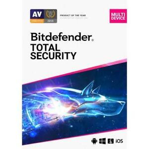 Bitdefender Total Security Antivirus 2021 | 1 Device 3 Year