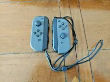 Genuine Nintendo Switch LEFT & Right Side GRAY Joy-Con Controller HAC-015