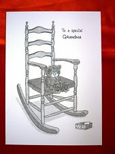 To a Special Grandma - Small - Tatty Teddy Me to You - Birthday Card