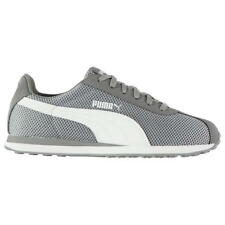 Puma Turin Mesh Mens Trainers Brand New Grey Trainers-Size 8