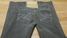 7 FOR ALL MANKIND Brown Corduroy Bootcut Jeans Size 28