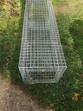 1 LARGE CATCH-ALIVE ANIMAL TRAP, CAT, DOG, FOX CUB. RABBIT HAND MADE IN THE UK