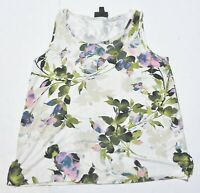 Woman's J.JILL WEAREVER COLLECTION Floral Tank Top Sleeveless Size Petite XS