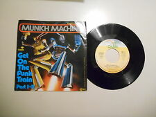 "7"" POP MUNICH MACHINE-Get O/T radio Train OASIS/Giorgio Moroder"