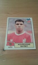 N°399 NOUREDDINE NAYBET # MAROC PANINI USA 94 WORLD CUP ORIGINAL 1994