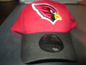 AZ CARDINALS Authentic NFL New Era HAT 39 Thirty Stretch Fit L/XL Red/Blk $24.99
