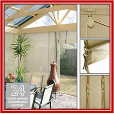 NEW! 210 x 240 Stone Mesh Shade Screen Filter Blind Backyard Outdoor Verandah