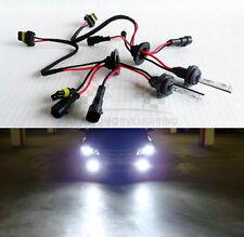 2x 9006 HB4 6000K Whtie Xenon HID Replacement Bulbs Fog Light/Headlight