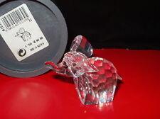 FREE SHIPPING -SWAROVSKI CRYSTAL RETIRED LARGE ELEPHANT # 7640 060 - MINT IN BOX
