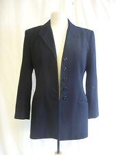 Ladies Suit Jacket - Richards, size 10 PETITE EU 38, black, work office - 0196