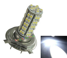 H4 68 LED SMD 3528 Xenon blanc voiture Brouillard ampoule lampe phare 310LM 12V