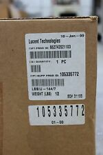 Lucent Technologies 105335772 Splice Shelf-Fiber Patch Panel *Factory Sealed*
