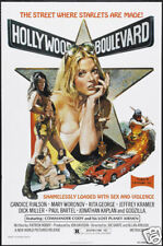 Hollywood boulevard Candice Rialson movie poster