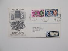 1960 Europa on Clean First Day Cover with Whitstable Cds & Typed Address Cat £65