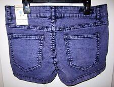 Bubblegum Purple Acid Wash Shorts 11/12 NWT