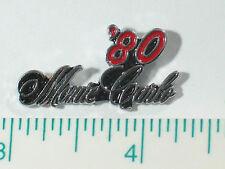 1980 Monte Carlo Pin , Auto Pin