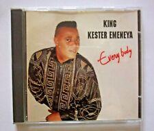 CONGOLESE SINGER KING KESTER EMENEYA EVERY BODY 1993 SONODISC CD MADE IN FRANCE