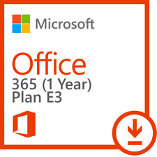 Microsoft Office 365 Entreprise E3 ESD LICENCE KEY 5 user 1 YEAR all language