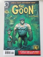 THE GOON #32 (2009) DARK HORSE GIANT! AUTOGRAPHED by ERIC POWELL with COA!  NM