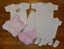 Baby Gear 8 Piece Lot 6-9 Months Calvin Klein Bodysuit Long sleeve Outfit socks