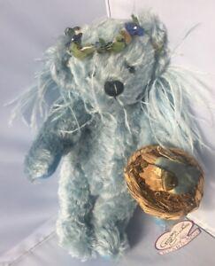 Annette Funicello Bear Blue Birdie 23rd Angel Mohair Bear