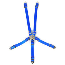 Yeah Racing 1/10 RC Crawler Blue Scale 5 Point Harness Seat Belt YA-0558BU