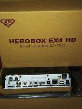 Herobox EX4 WIFI Decoder Combo DVB-S2 e DVB-T2 Enigma2 come ZGemma H2H