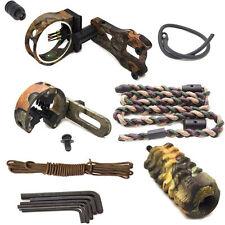 Archery upgrade Bow Sight kit,Arrow rest,Bow Stabiliser bow peep
