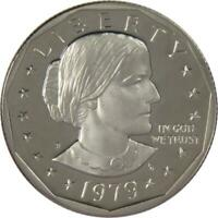 1979 S Type 2 Clear S $1 Susan B. Anthony SBA Dollar US Coin Choice Proof