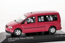 VW Caddy Maxi Shuttle rot Minichamps 1:43 NEU/OVP