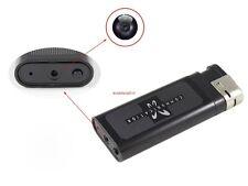 Metal Lighter Spy DVR Camera Cam Camcorder Video Photo Recorder Mini DV Black