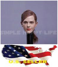 IN STOCK 1/6 Emma Watson Head Sculpt Harry Potter Hermione fit Hot Toys Phicen