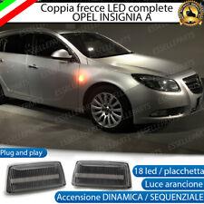 COPPIA FRECCE LATERALI 36 LED DINAMICHE SPECIFICHE OPEL INSIGNIA CANBUS DINAMICA