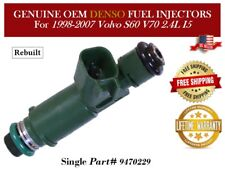 1 Fuel Injector OEM DENSO for 1998-2007 Volvo V70 S60 2.4L I5 Part# 9470229