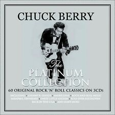 CHUCK BERRY *  60 Greatest Hits * NEW 3-CD Box Set  *  All Original Songs  * NEW