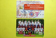 M20/2003 Auflage 2000 Stück Fussball FC Bayern Deutsche Meisterschaft 2002/2003