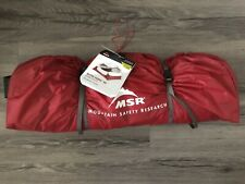 MSR Mutha Hubba NX 3 Person Backpacking Tent | More Volume | Green Rainfly, NEW
