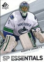 2011-12 SP Authentic Canucks Hockey Card #179 Roberto Luongo ESS