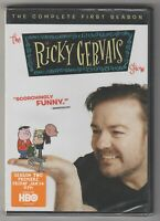 HBO TV RICKY GERVAIS SHOW THE COMPLETE FIRST SEASON (One / 1) DVD 2-Disc Set