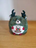 "TY Beanie Babies Ballz NBA - Milwaukee Bucks - Soft Plush Toy 5"" * RARE *"