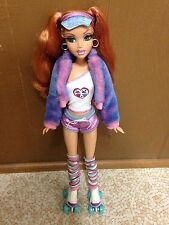 Barbie My Scene Kenzie Doll Masquerade Madness Red Hair Green Eye Lashes Pigtail