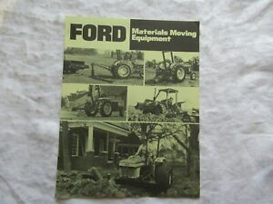 Ford materials moving equipment brochure