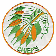 """1973-77 KAMLOOPS CHIEFS WCHL HOCKEY MINORS 7"""" LARGE TEAM PATCH"""