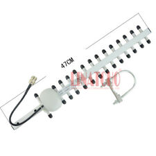 2.4ghz aluminum alloy directional 15 elements high gain 14db wifi yagi antenna