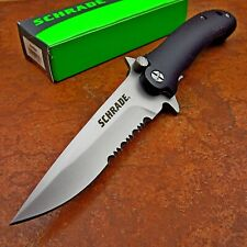 Schrade Everyday Carry EDC Tactical 9Cr18MoV Folding Flipper Pocket Knife NEW
