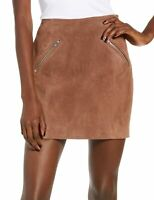 Blanknyc Womens Skirt Classic Light Brown Size 30 Faux-Suede Mini $64 323