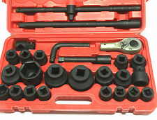 "26 pc 3/4"" IMPACT SOCKET SET -METRIC-BRAND NEW IN PLASTIC CASE"
